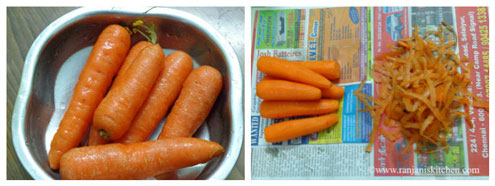 how to prepare carrot halwa