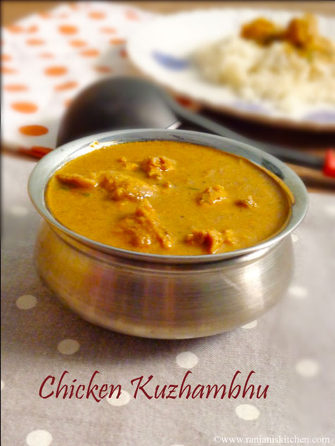 Chicken kuzhambhu recipe