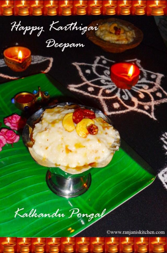 Karthigai recipes