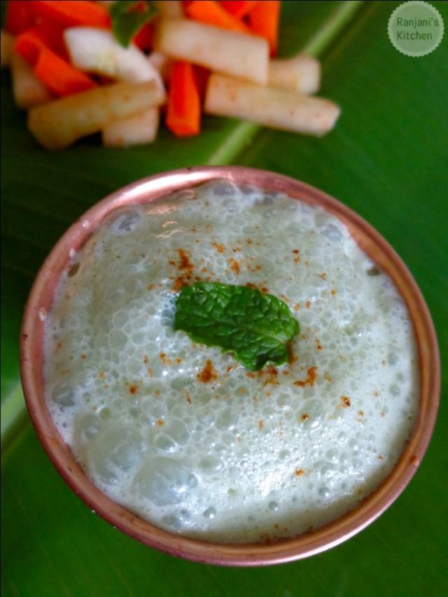 Pudhina buttermilk