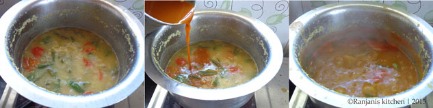 how to make avarakai sambar