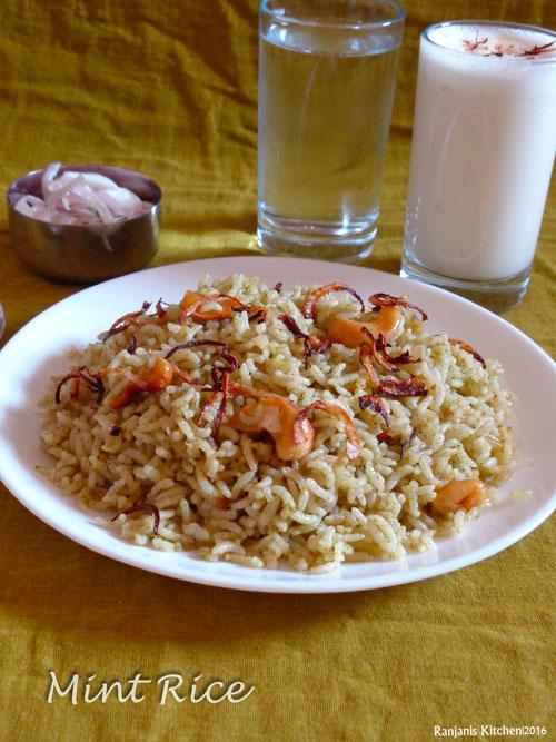 Pudina-Rice