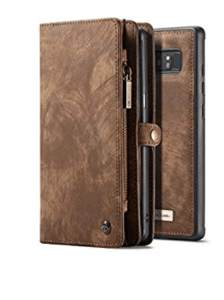 wallet and phone case for note8