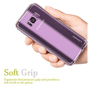 Lohasic Clear case anti scratch for Samsung s8 plus