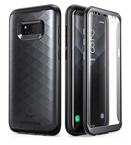 Clayco rugged case with screen protection for S8 plus