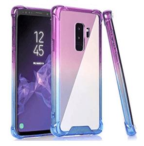 Baisrke Case purple blue for samsung s9 pluw