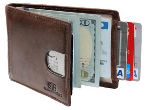 Serman brands genuine leather wallet for men