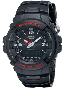 casio gshock analog watch