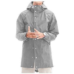 poriff hooded waterproof rain jacket
