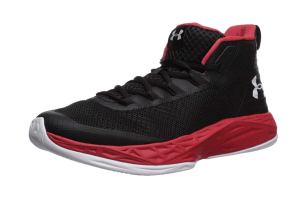 jet mid basketball shoe under armour