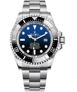 Deepsea blue dial rolex