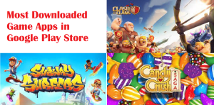 Most downloaded games apps