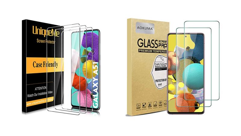 Best Screen Protectors for Galaxy A51 (6.5-inch) in UK