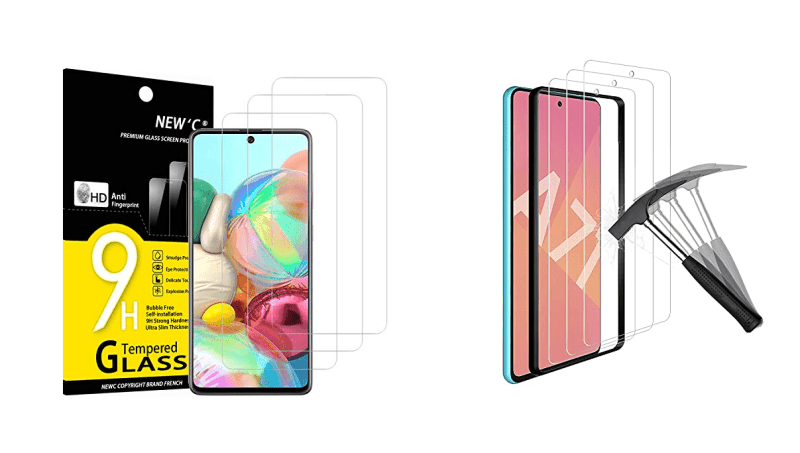 Best Screen Protectors for Galaxy A71 (6.7-inch) in the UK