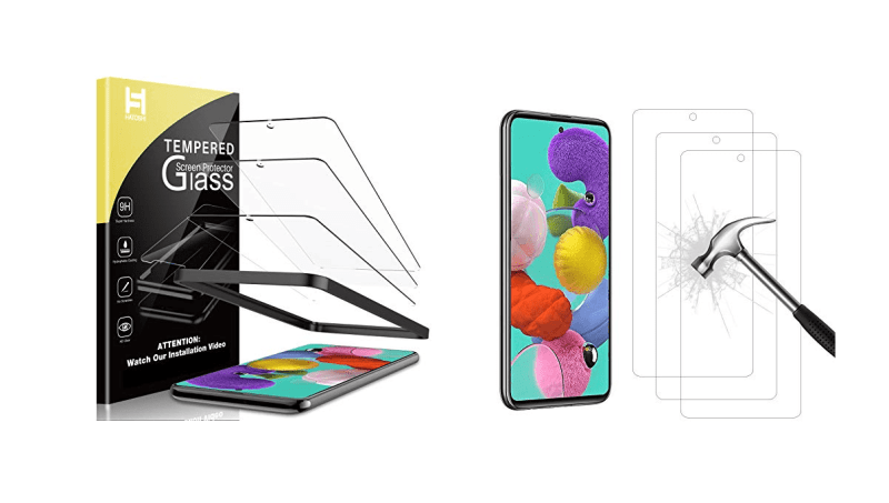 Best Screen Protectors for Galaxy A51