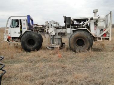 3D Seismic Vibrator Truck