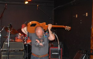 Tom Ranken of the Ranken File, a hot Seattle rock band