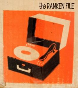 Ranken File Seattle rock band LP Poster