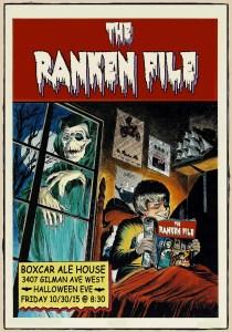 Halloween Ranken File Seattle Rock Band Poster