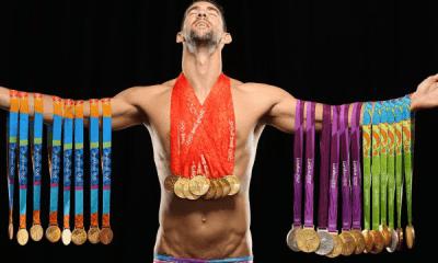 maiores medalhistas da hitoria