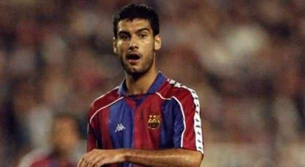 Pep Guardiola entre os maiores jogadores do Barcelona de todos os tempos