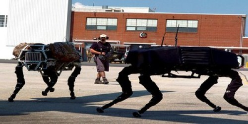 Latest Military Gadgets- big dog