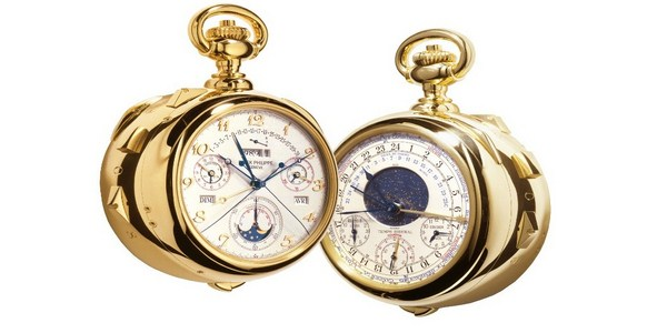Patek Philippe Henry Graves Super Complication Pocket Watch