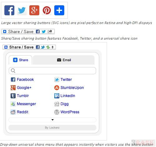 Share Buttons by AddToAny