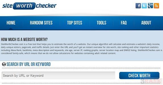 Free Website Worth Checker