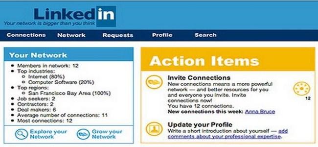 LinkedIn 2003