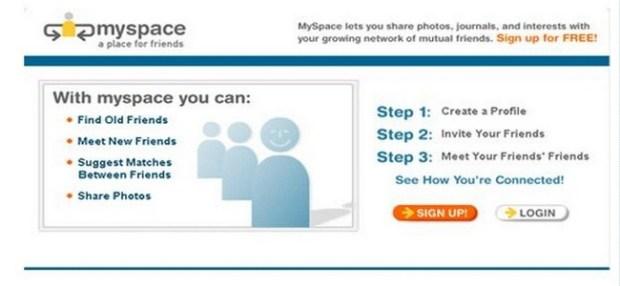 myspace 2003