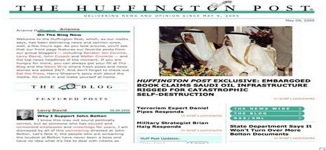 the huffingtonpost 2005