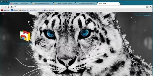 Snow Leopard Theme