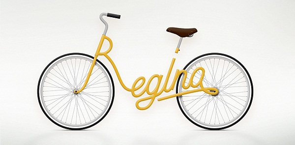 Bike Typography