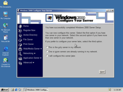 Window 2000 or Older
