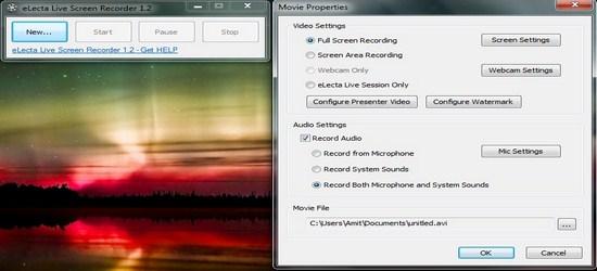 eLecta Live Screen Recorder