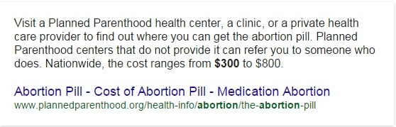 how much does an abortion cost