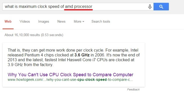 what is maximum clock speed of amd processor