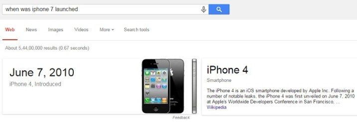 when was iphone 7 launched