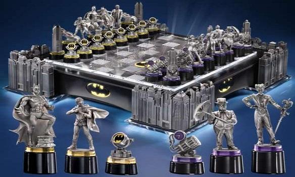 Batman Gotham Cityscape Chess