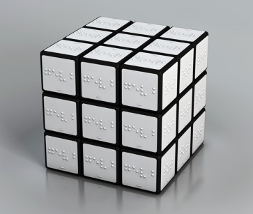 Braille Rubik Cube