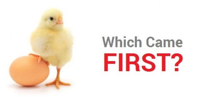 masalah telur atau ayam