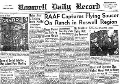 1947 alien news