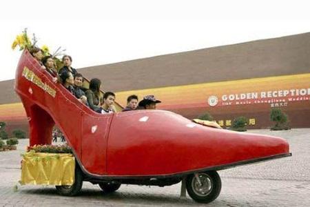 Lady Shoe Car