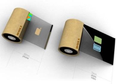 OLED Roll Phone