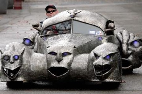 Phantoms - Weird Looking Vehicles