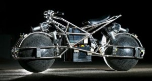 Spherical Drive System Motorcycle
