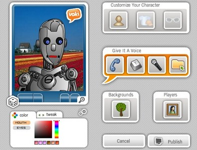 Tools to Create your Avatar - Voki