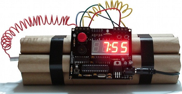 Defusable Alarm Clock Kit
