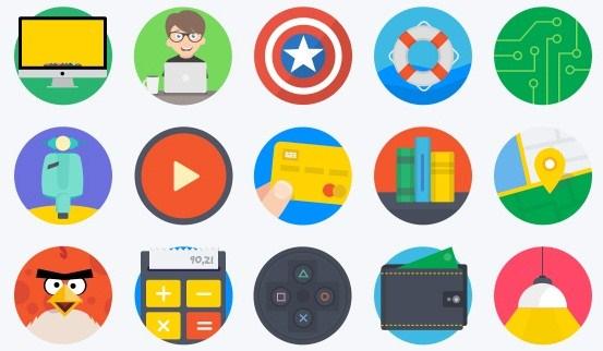 Mintie Flat Icons